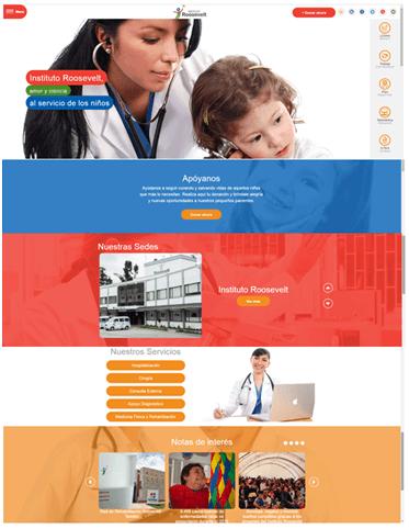 El Instituto Roosevelt lanza nueva página Web